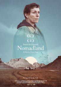 Poser pour Nomadland