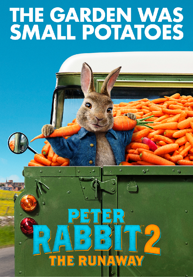 Poster pour Peter Rabbit 2: The Runaway