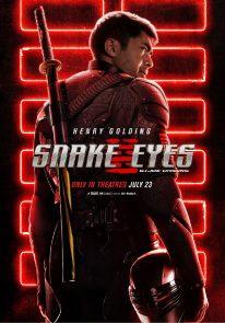 Poser pour Snake Eyes: G.I. Joe Origins