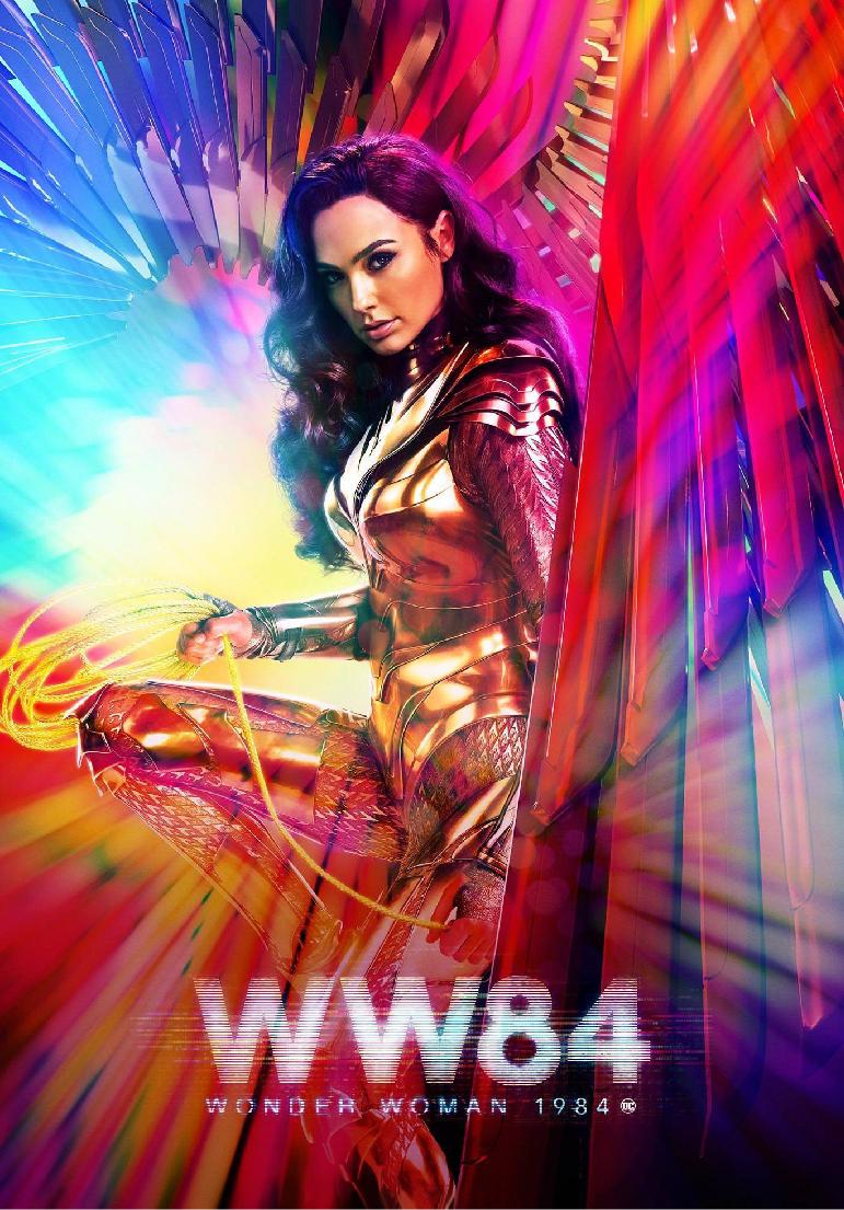 Poser pour Wonder Woman 1984